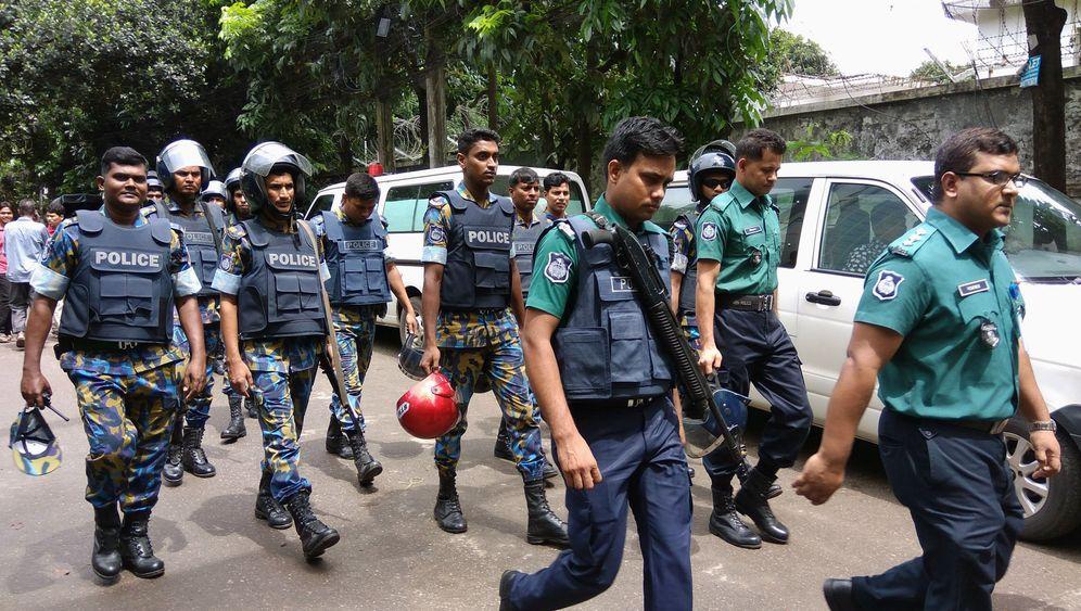 Bangladesch: Geiselnahme im Diplomatenviertel von Dhaka