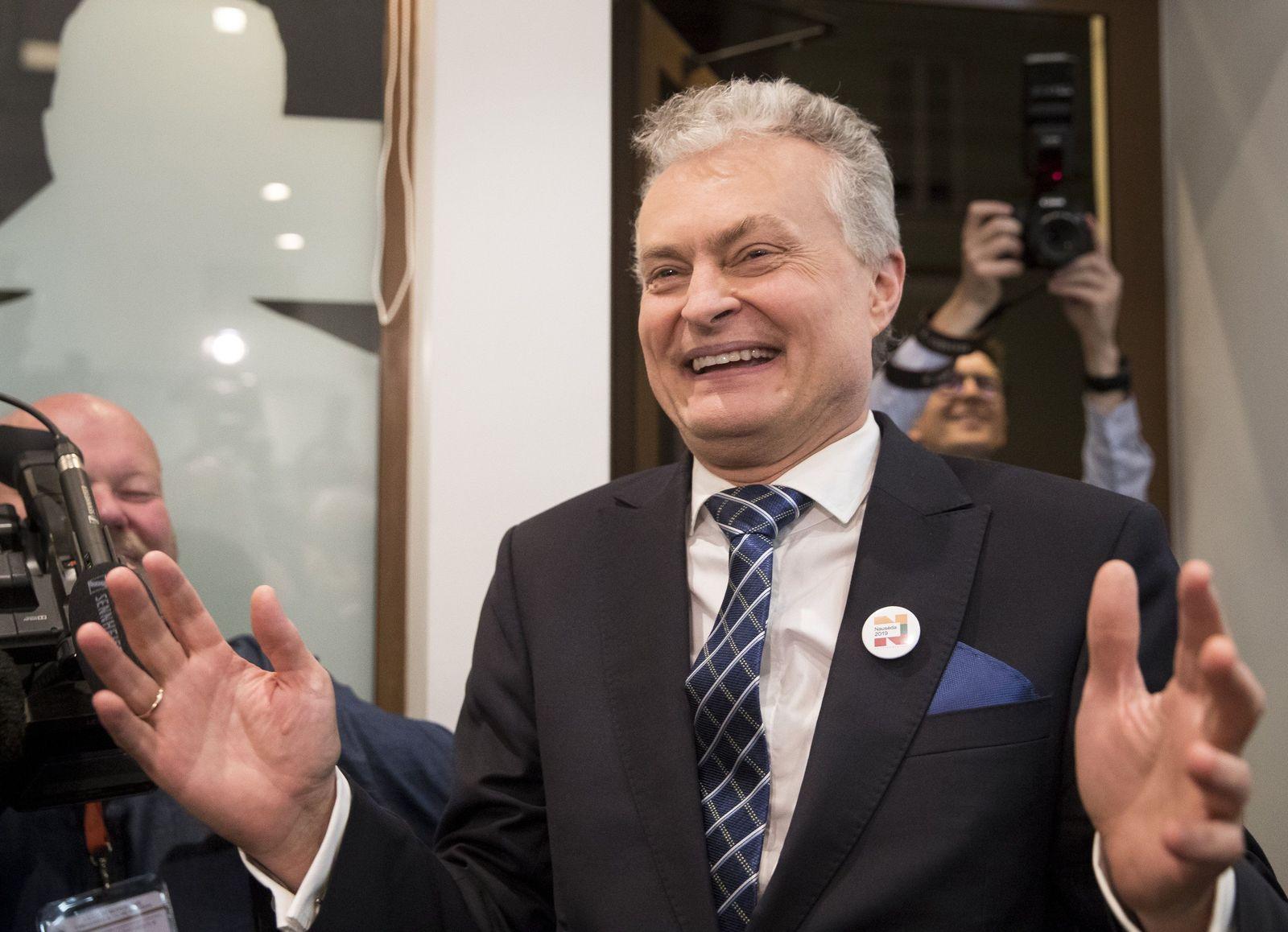 Gitanas Nauseda Litauen
