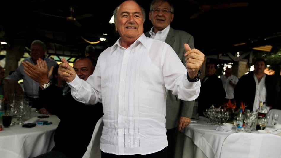 "Fifa-Präsident Blatter: ""Kann nicht sagen, ob alle Engel oder Teufel sind"""