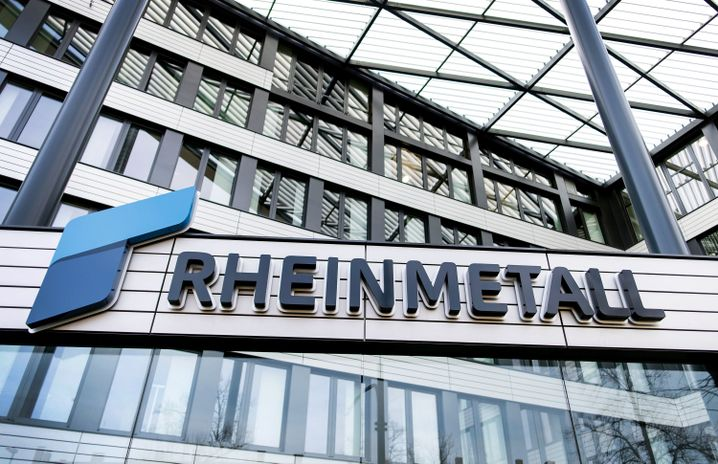 Rheinmetall-Firmensitz in Düsseldorf