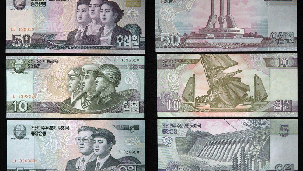 Nordkorea: Neues Geld für Kim Jong Il