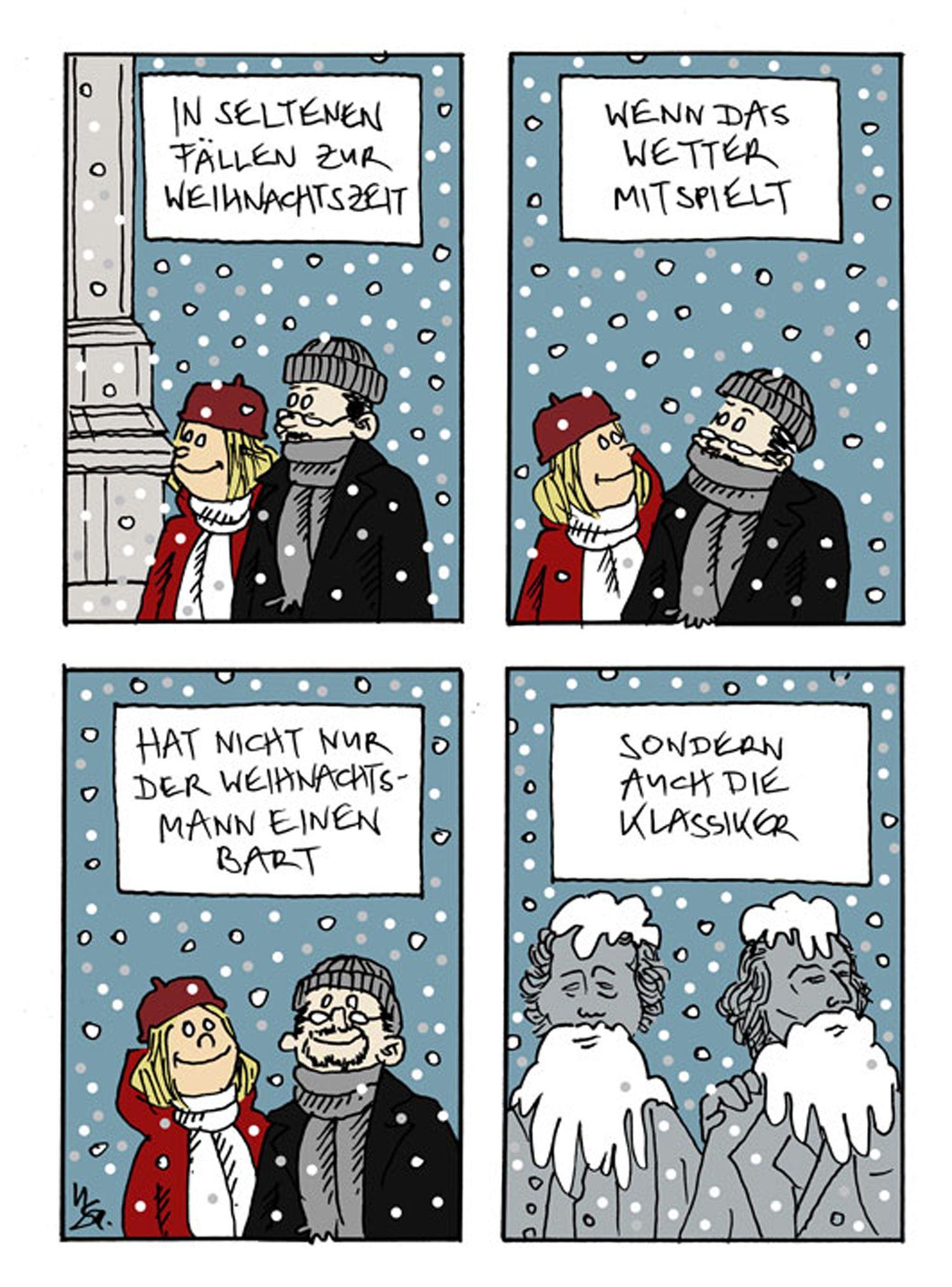 EINMALIGE VERWENDUNG Comic-Adventskalender 2011 - Ulf Salzmann NEU