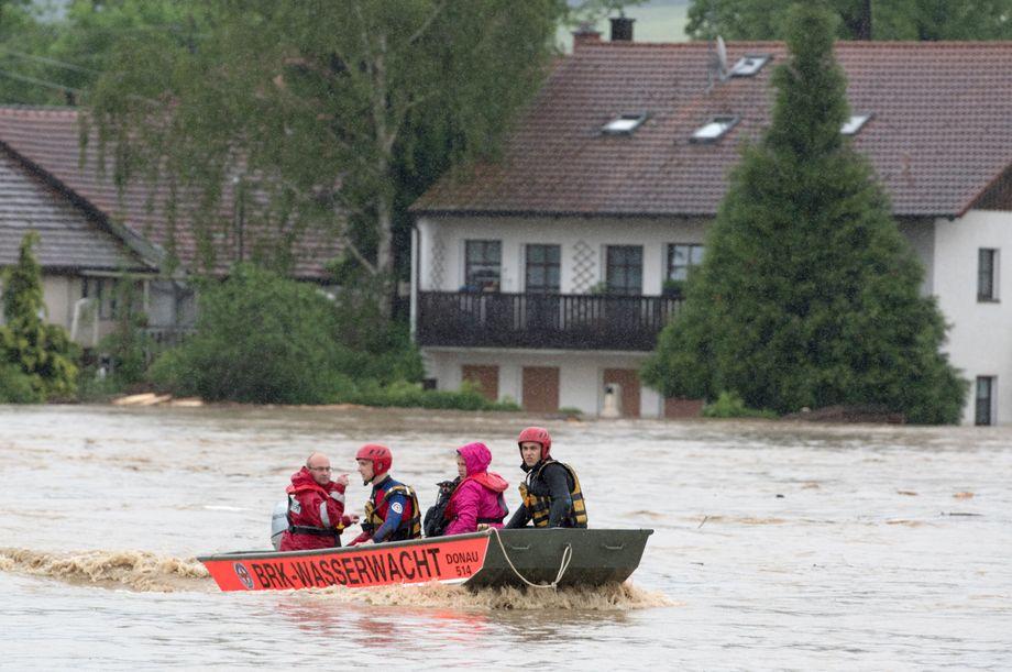 Katastrophenalarm Niederbayern