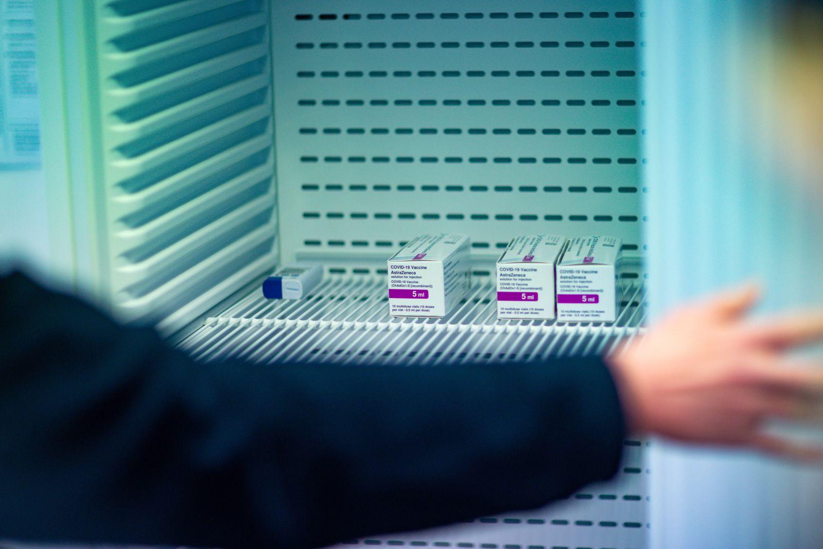 Start der Corona-Schutzimpfungen bei der Bayerischen Polizei 02.02.2021 MÜNCHEN Die Bayerische Polizei erhält heute die
