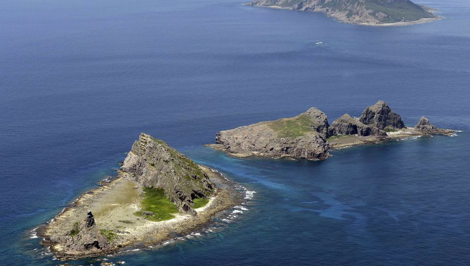 Unbewohnte Inselgruppe: Im Meer werden Rohstoffvorkommen vermutet