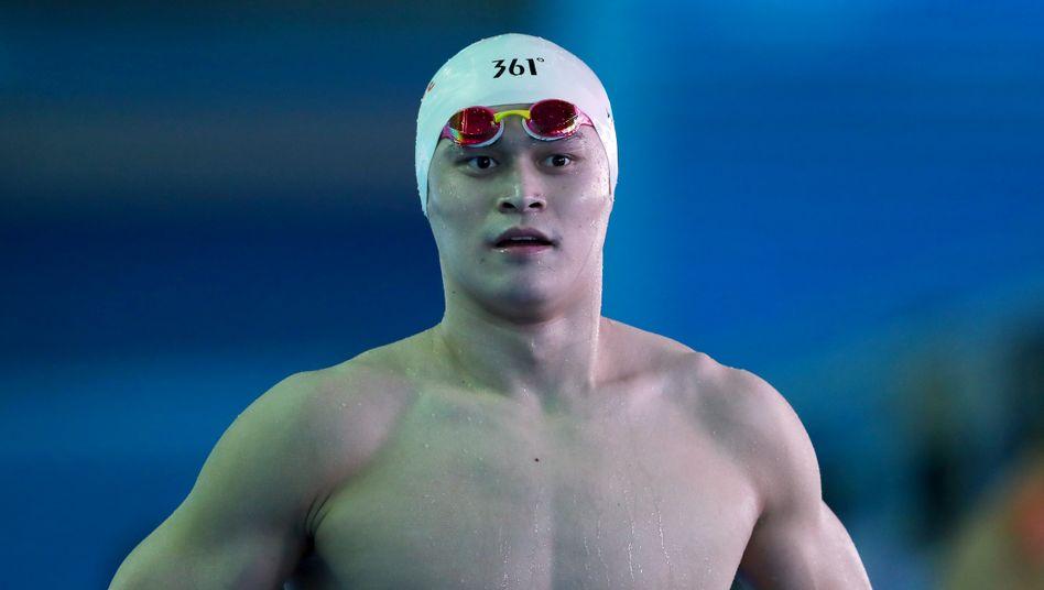Umstrittener Schwimm-Olympiasieger: Sun Yang wegen Dopingvergehen für acht Jahre gesperrt
