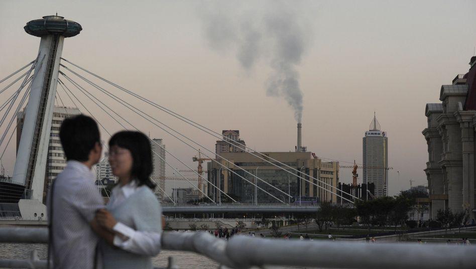 """Skyline im chinesischen Tianjin: """"Konferenz ist auf ganzer Linie gescheitert"""""""