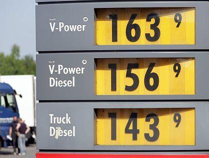 Preistafel für Benzin: Rekordpreise sollen wieder gedrückt werden