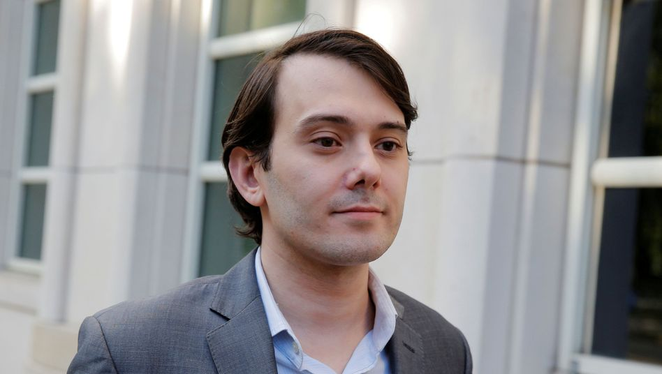 US-Pharmaunternehmer Martin Shkreli