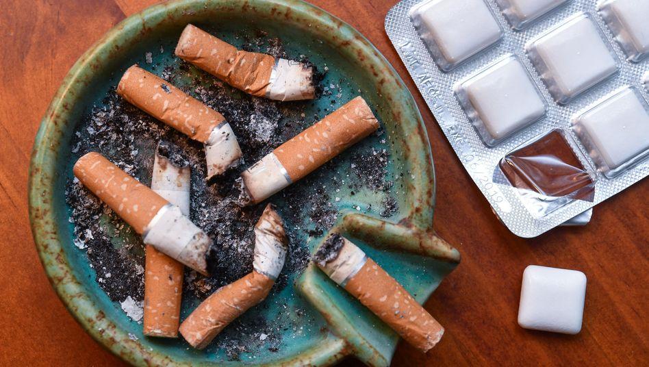 Nikotinkaugummis erleichtern den Rauchstopp