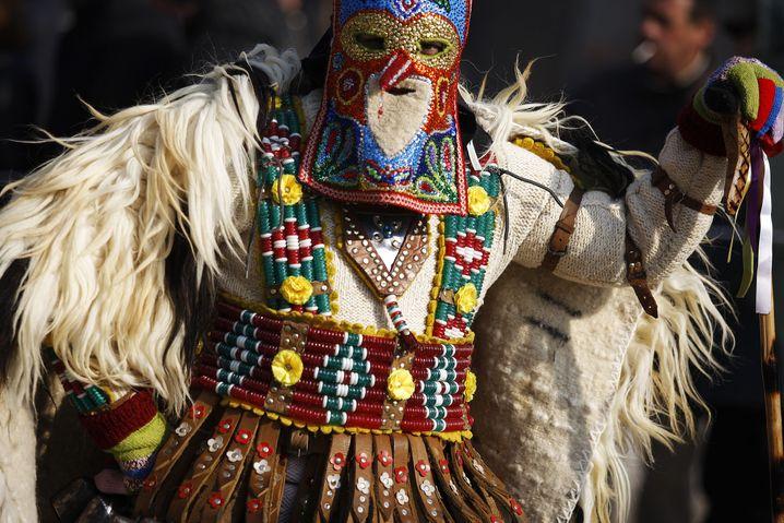 Neujahrsumzug in Bulgarien (Archivbild)