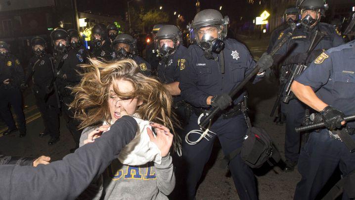 Wut über Polizeigewalt: Proteste in den ganzen USA