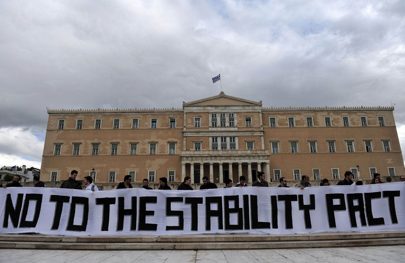 Athen Griechenland Parlament Euro
