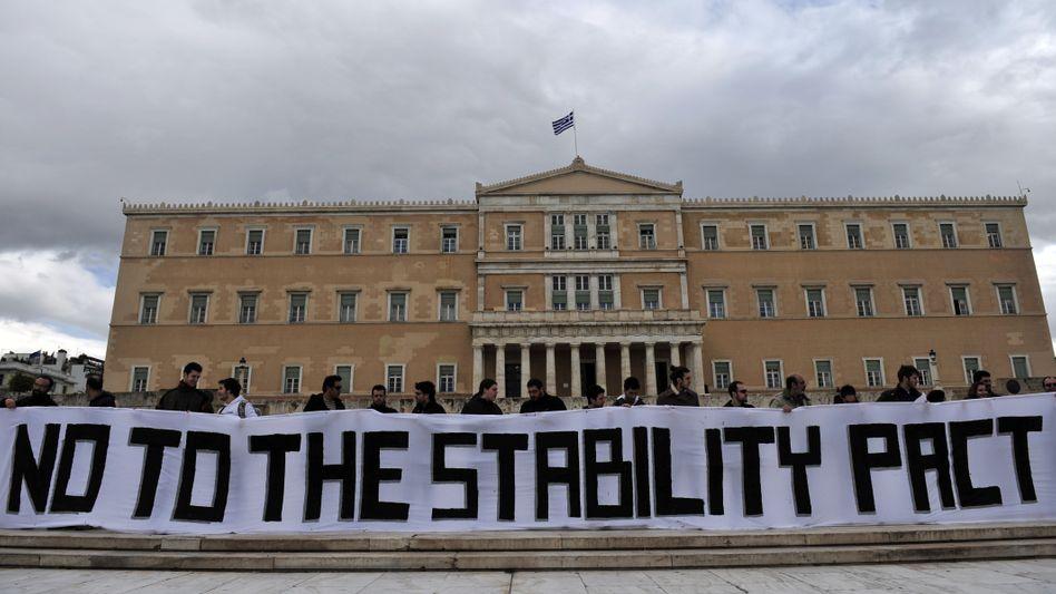 """Proteste in Griechenland gegen Spardiktat: """"Es gibt keine Illusionen mehr"""""""
