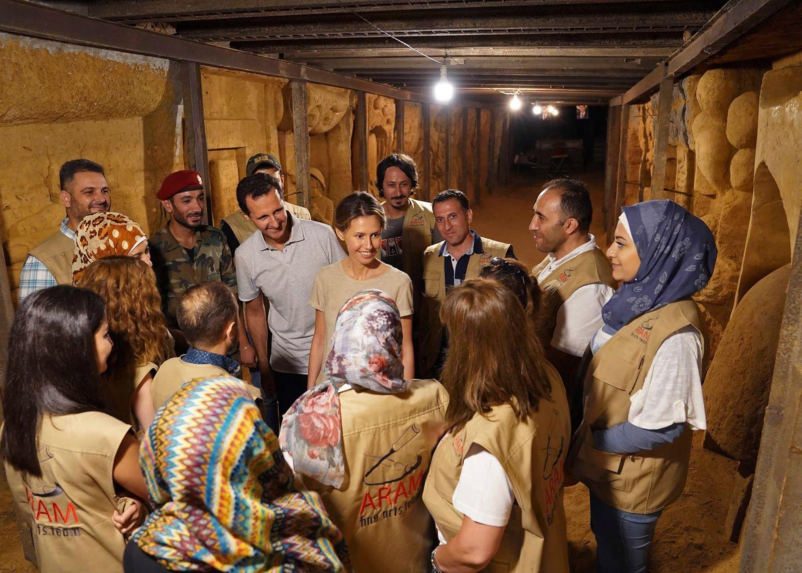 Bashar Assad,Asma Assad