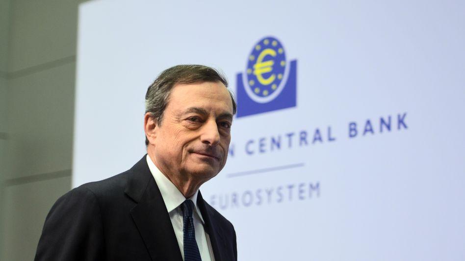 """EZB-Chef Draghi: """"Risiko ist höher als vor sechs Monaten"""""""
