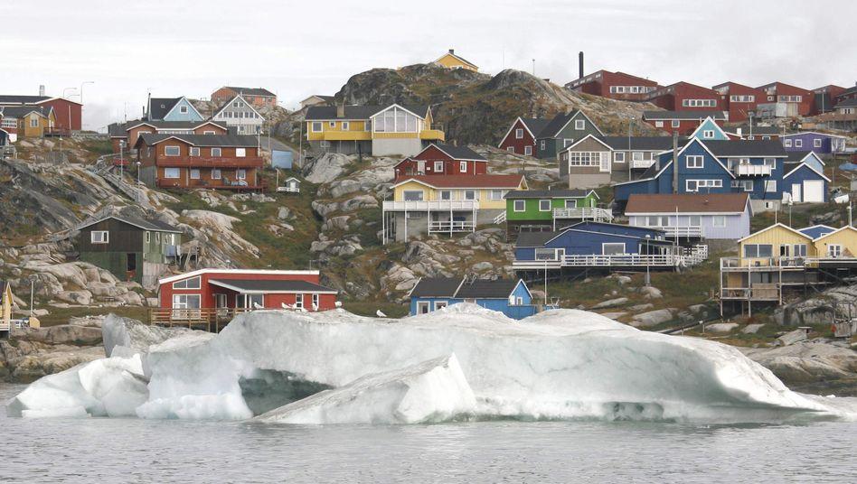 """Stadt Ilulissat in Grönland (August 2007): """"Probleme sind ein Erbe der Kolonialzeit"""""""