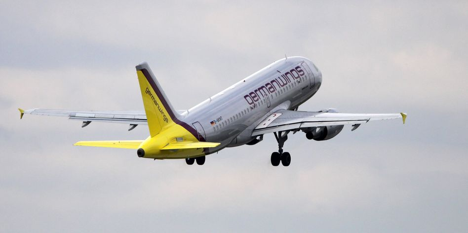Germanwings-Maschine (Archiv): Bombendrohung am Flughafen Köln/Bonn
