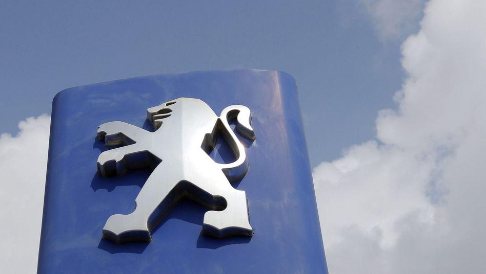 Peugeot-Logo in Montpellier: Engere Zusammenarbeit bereits beschlossen