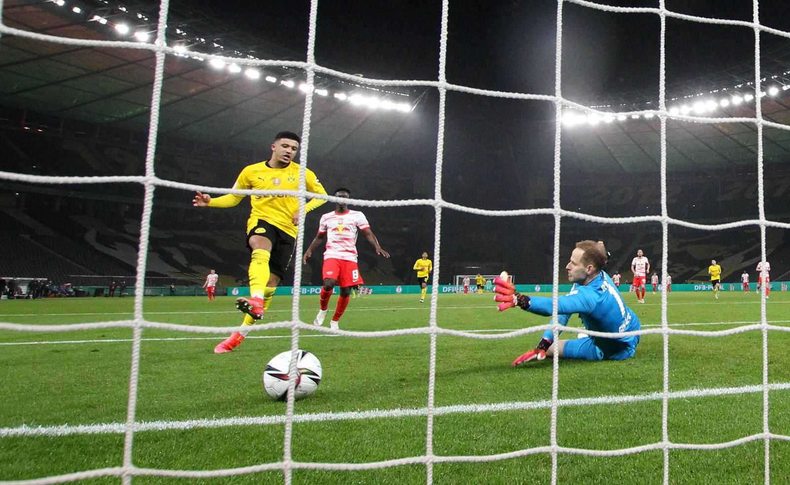 Pokalfinale / RB Leipzig - Dortmund / 13.05.2021 Berlin, 13.05.2021, Olympiastadion, Fussball, DFB - Pokalfinale , RB Le