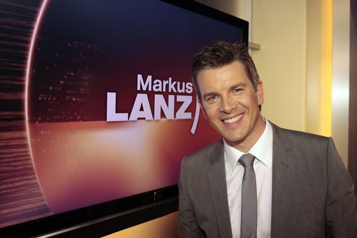 Moderator Lanz: Witwen-Wallraff des ZDF