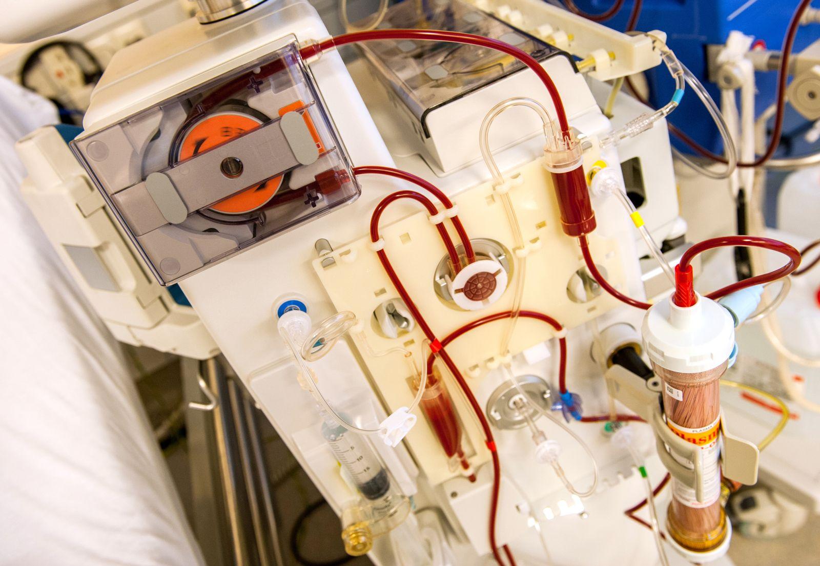 Dialyse / Blutwäsche / Medizin