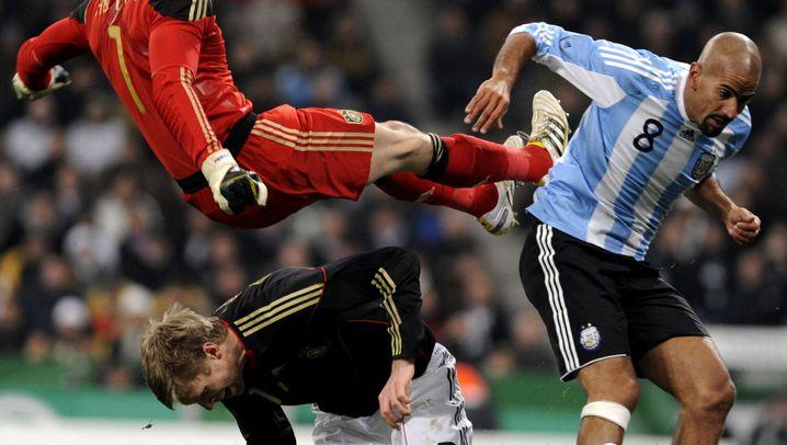 DFB gegen Argentinien: Adler erst schwerelos, dann überrumpelt