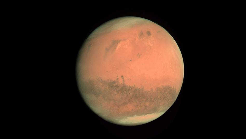 Der Rote Planet: Anreise sieben Monate