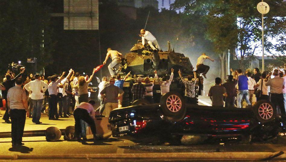 Panzer in Ankara
