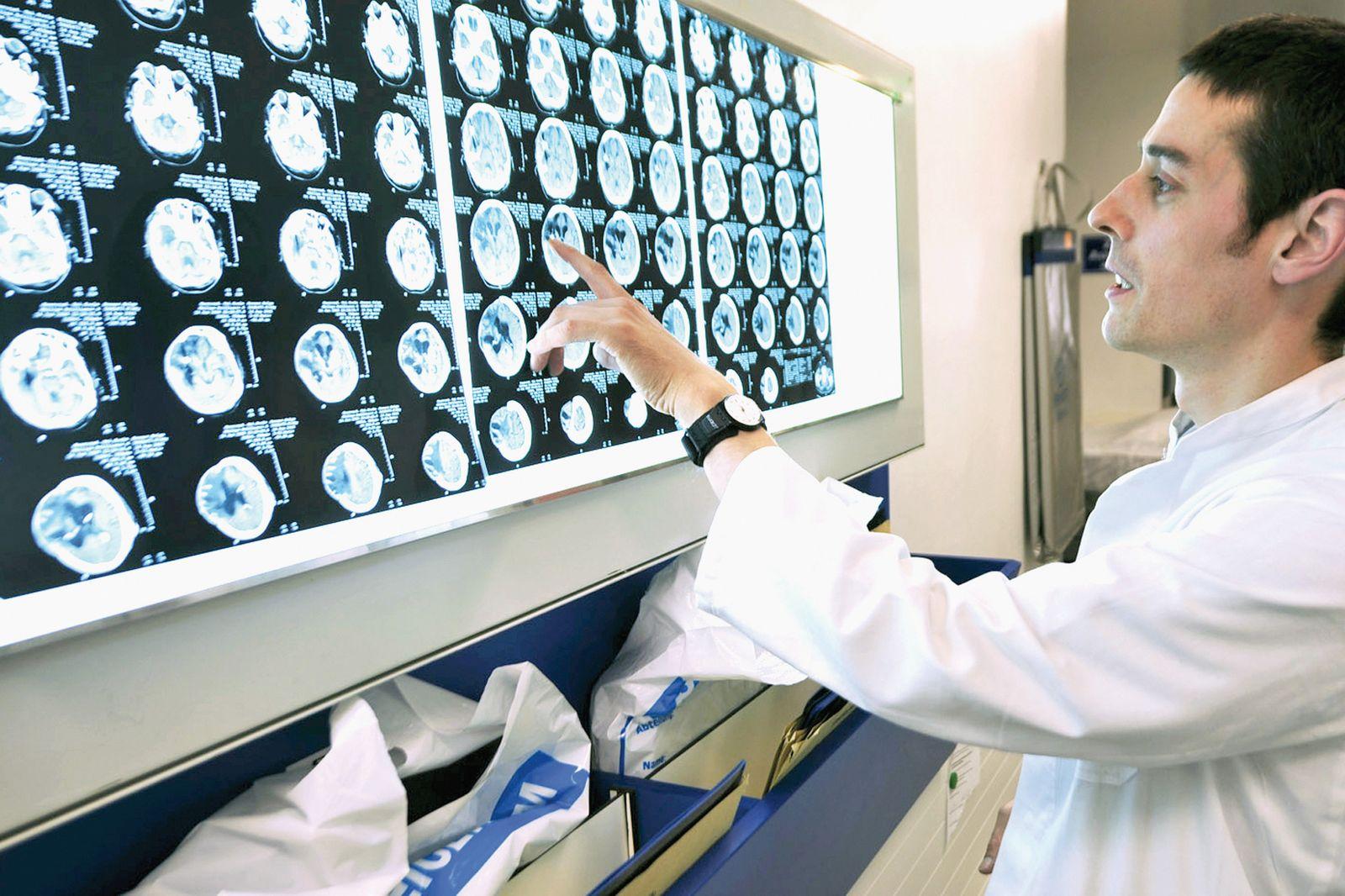 EINMALIGE VERWENDUNG Hirntod-Diagnose