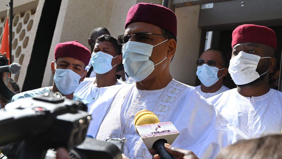 Bazoum will ein »Präsident aller Nigrer« sein