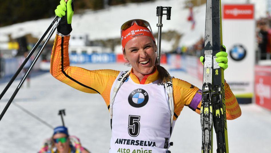 Biathlon-WM, Sprint: Alexander Loginov siegt, Arnd Peiffer bester Deutscher