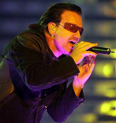 """""""Live 8""""-Unterstützer Bono: Gegenseitiges Geschäft"""