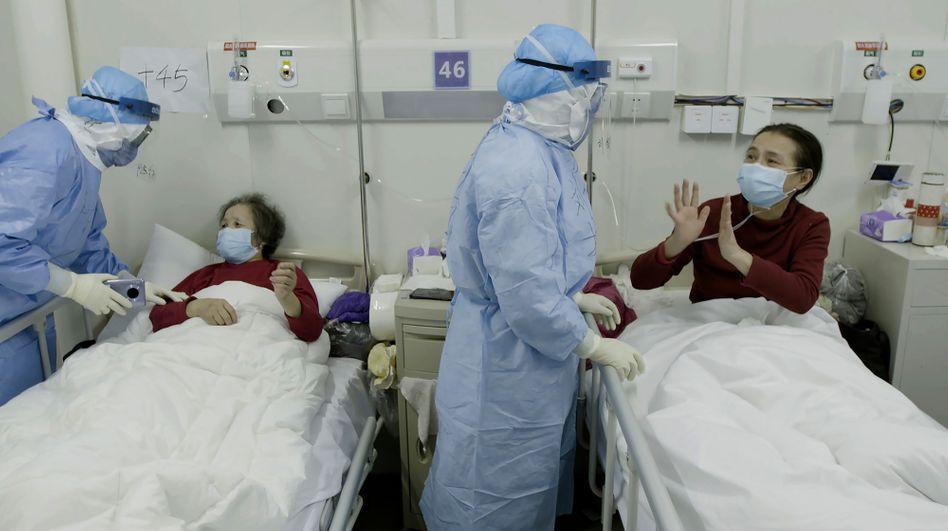 Jinyintan-Krankenhaus in Wuhan