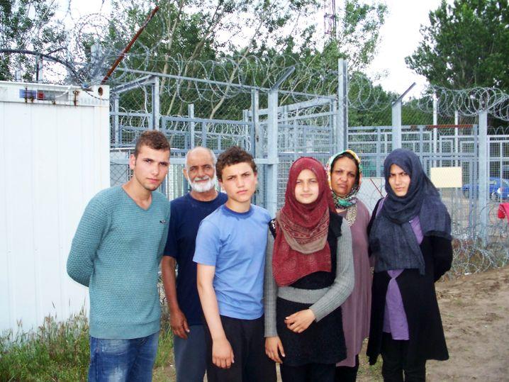 Flüchtling Ahmad mit Familie