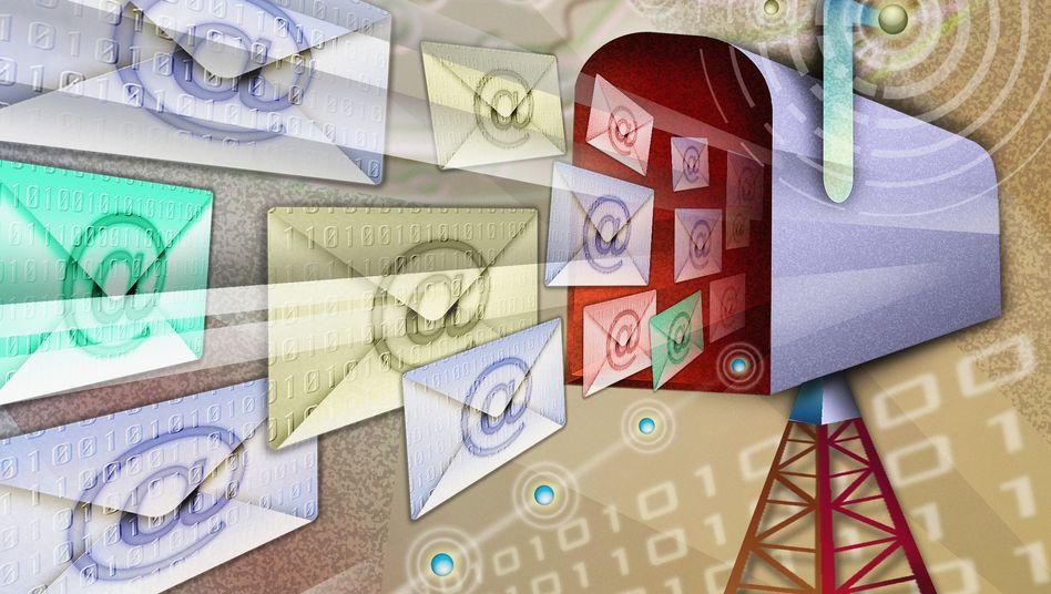 Spam (Symbolbild): Gefälschte Bewertungen fallen durch blumige Sprache auf