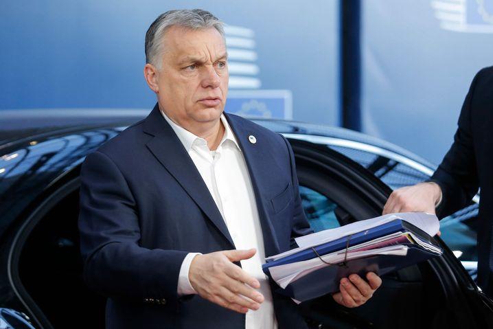 Viktor Orbán in Brüssel