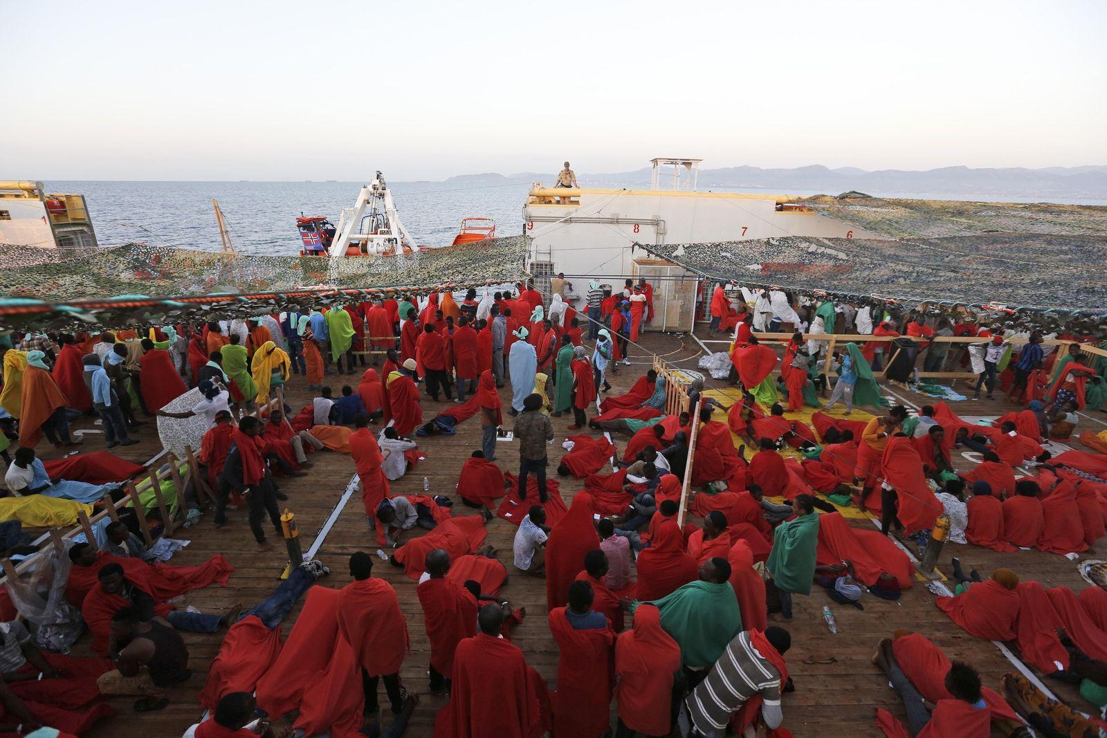 Italien/ Flüchtlinge