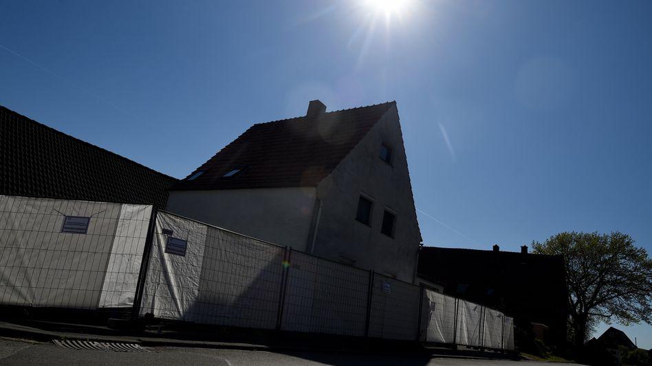 Haus des mutmaßlichen Folterpaares in Höxter