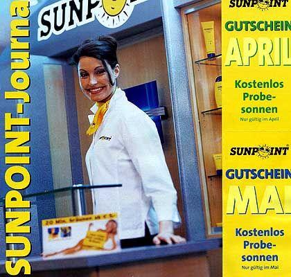 Platz 5 (7,08 Punkte): Sunpoint. Die Firma verteilte reichlich Gutscheine zum Probesonnen, konnte die hohe Zahl an Interessenten aber nicht bewältigen.