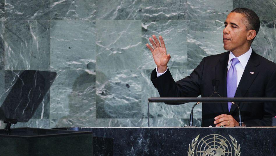 Rede vor Uno-Vollversammlung: Obama vertröstet Palästina