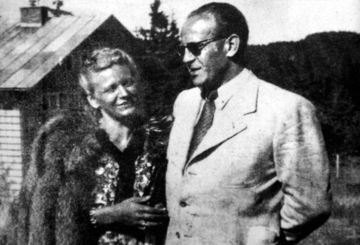 Emilie und Oskar Schindler
