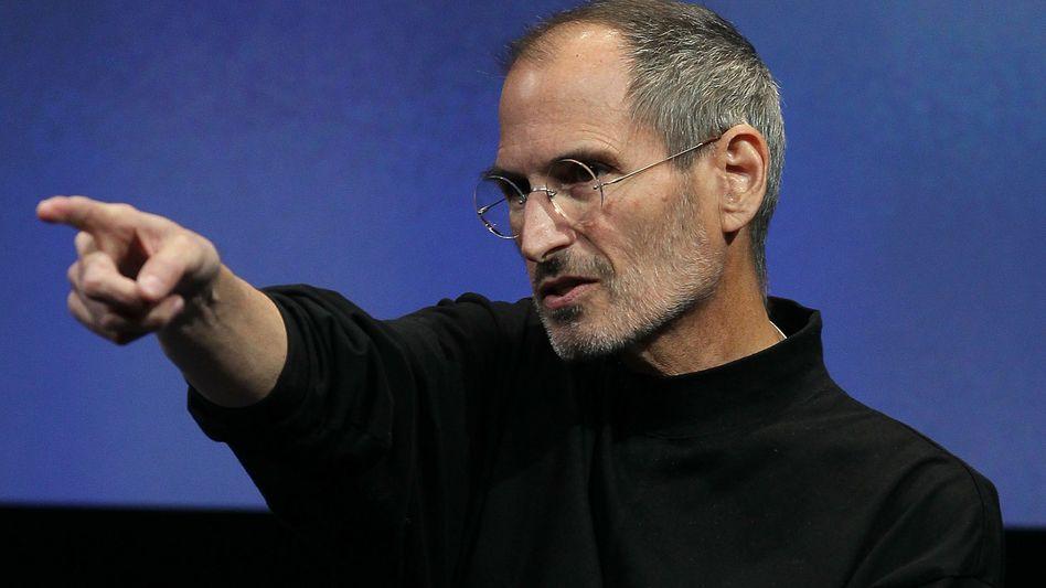 Apple-Chef Steve Jobs: Weckte er die Wettbewerbshüter, als er gegen Adobe wetterte?