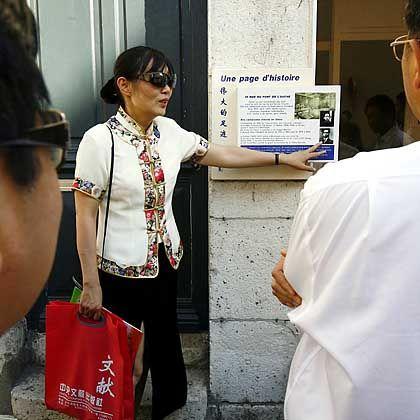 """Touristenführung in Montargis: """"In jedem chinesischen Geschichtsbuch"""""""