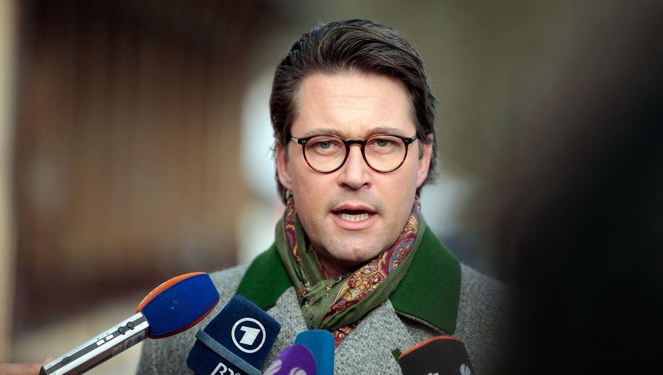 """CSU-Politiker Scheuer: """"Wenn die Beweislage eindeutig ist, darf es keine Toleranz gegenüber Straftätern geben"""""""