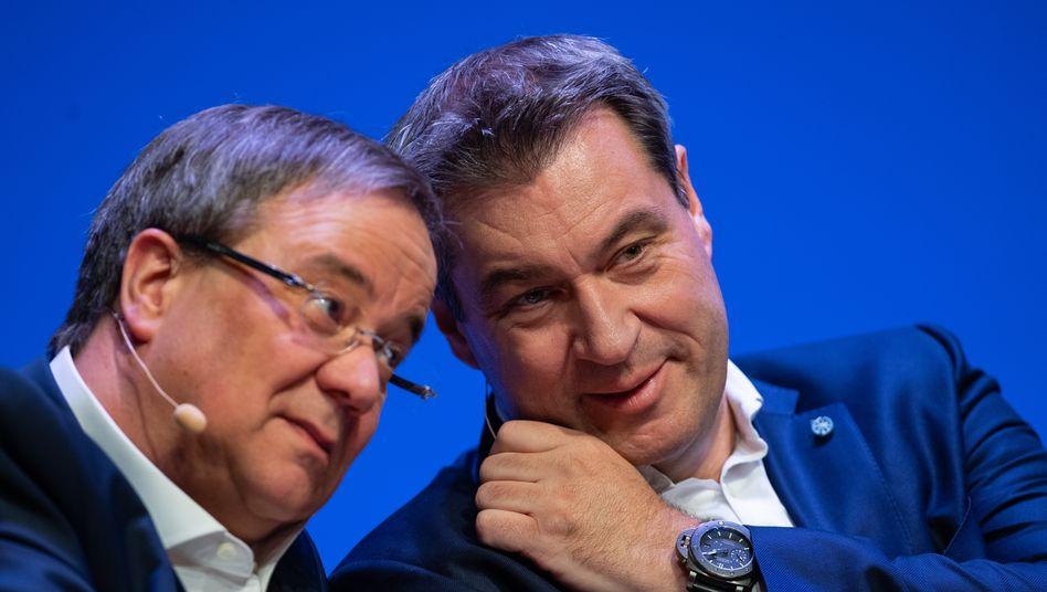 Wer wird Kanzlerkandidat der Union – Laschet (CDU) oder Söder (CSU)?