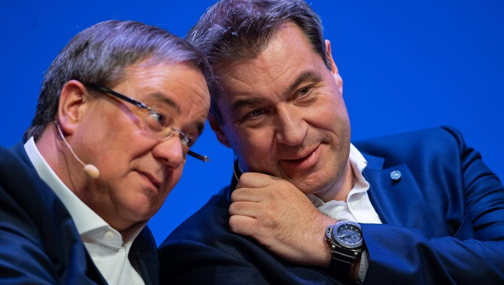 """Ministerpräsidenten Laschet, Söder: """"Die Lage ist sehr ernst"""""""