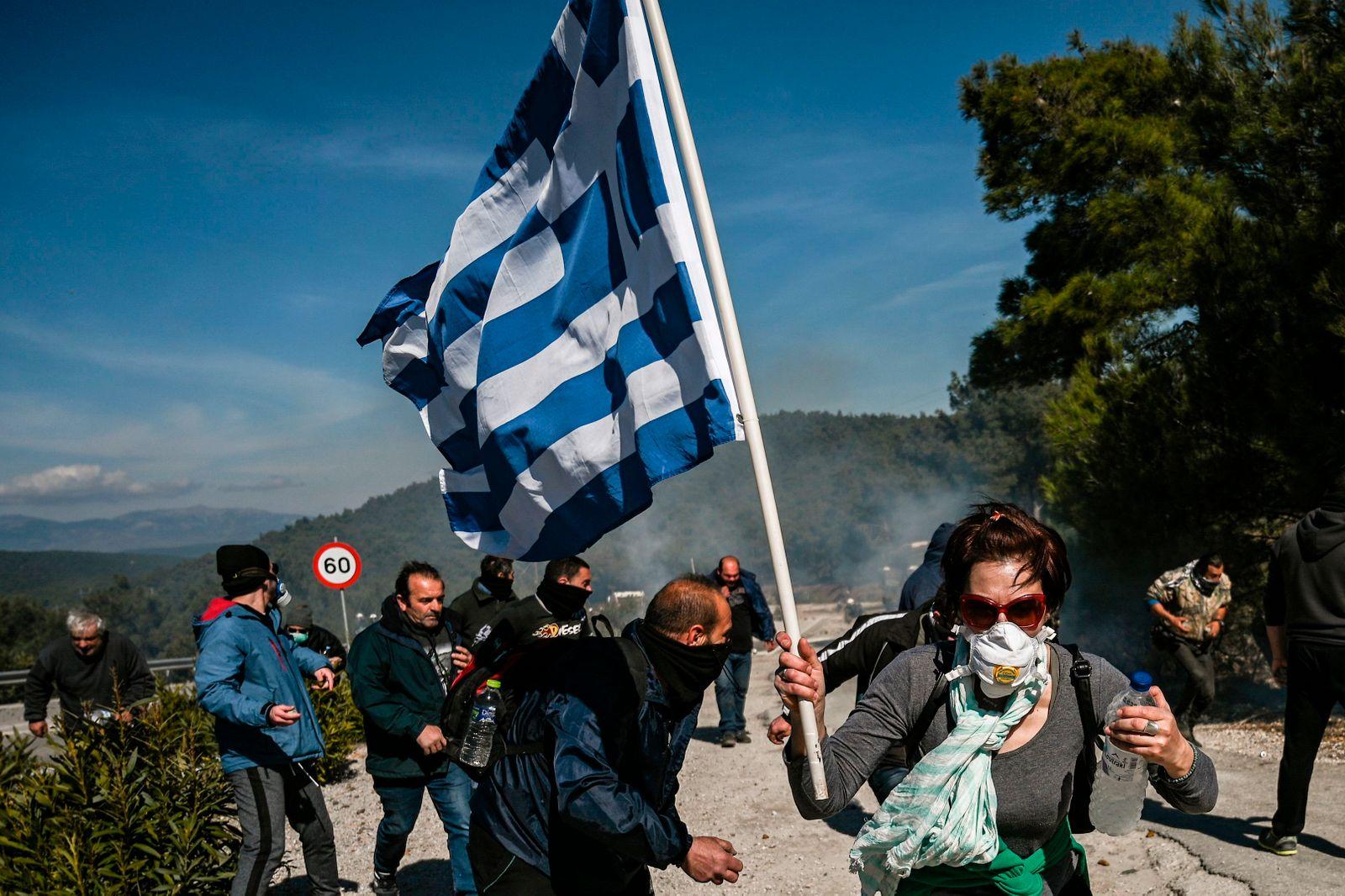 GREECE-UE-MIGRATION-PROTEST