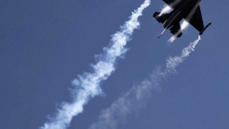 Amerikanischer Kampfjet F-16: Übung in Polen