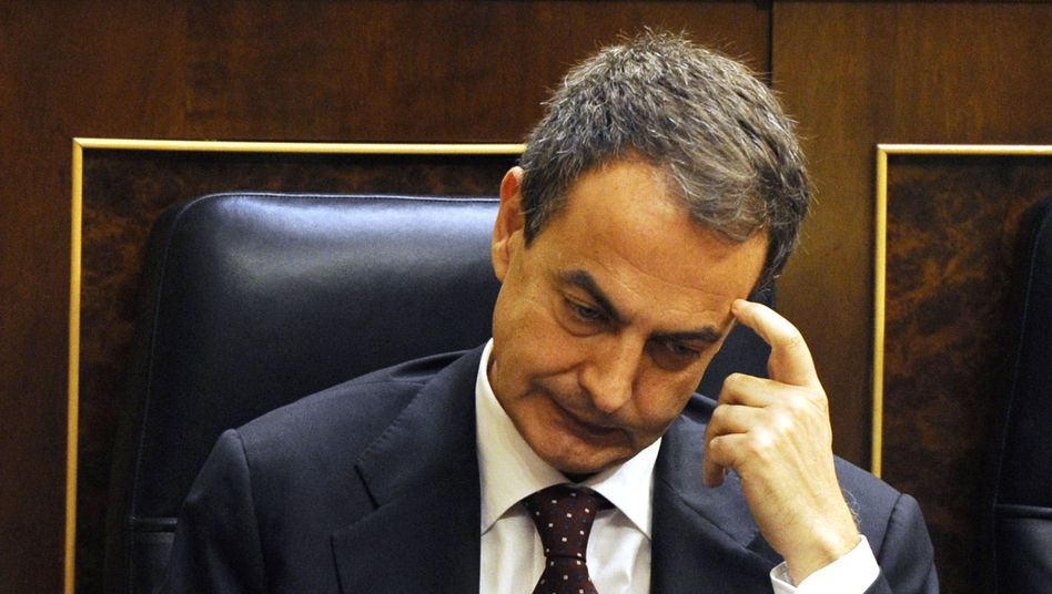 Spaniens Regierungschef Zapatero: Knapper Abstimmungserfolg im Parlament
